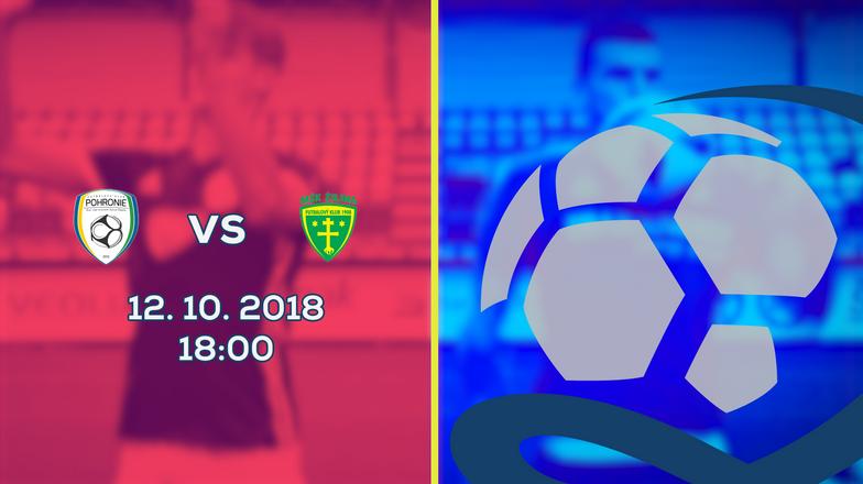 LIVE: 2. LIGA: 12. OKTÓBRA 2018, 18:00 FK POHRONIE ŽIAR NAD HRONOM DOLNÁ ŽDAŇA – MŠK ŽILINA B