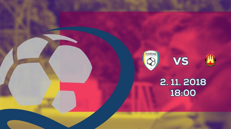 LIVE: 2. LIGA: 2. NOVEMBRA 2018, 18:00 FK POHRONIE ŽIAR NAD HRONOM DOLNÁ ŽDAŇA – FK INTER BRATISLAVA