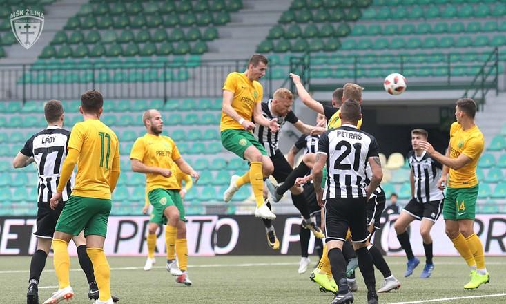 II. liga - Žilina B po prvej časti sezóny na 7. mieste, Konečný: Často rozhodovala skúsenosť