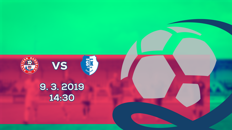 LIVE: 2. LIGA: 9. MARCA 2019, 14:30 PARTIZÁN BARDEJOV – FC ŠTK FLUMINENSE ŠAMORÍN