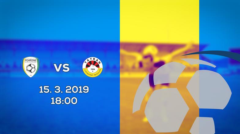 LIVE: 2. LIGA: 15. MARCA 2019, 18:00 FK POHRONIE - MFK TATRAN LIPTOVSKÝ MIKULÁŠ