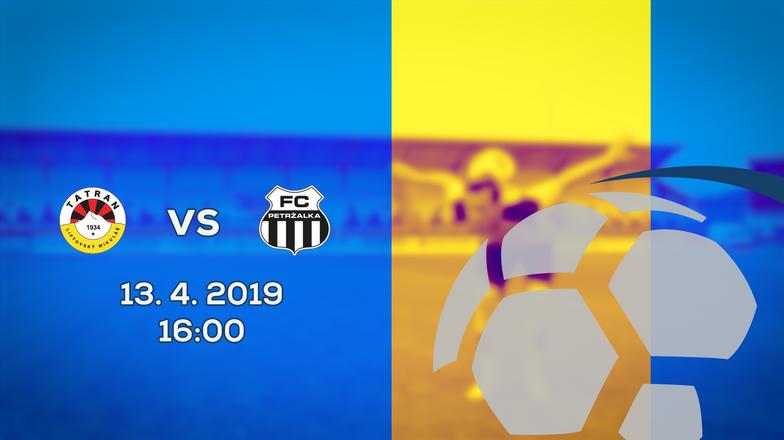 LIVE: 2. LIGA: 13. APRÍLA 2019, 16:00 MFK TATRAN LIPTOVSKÝ MIKULÁŠ - FC PETRŽALKA