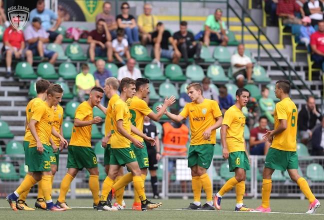 II. liga – V dohrávke 28. kola víťazstvo Žiliny B nad FK Pohronie 3:1