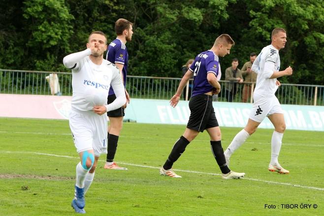 II. liga – Hráč Šamorína Almaský venoval gól proti Komárnu rozrastajúcej sa rodinke