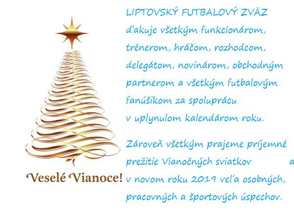 Veselé Vianoce a šťastný nový rok 2019