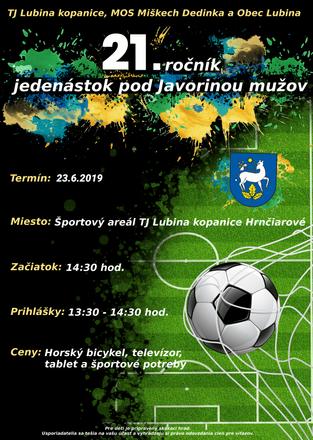 21. ročník jedenástok pod Javorinou - 30.06.2019