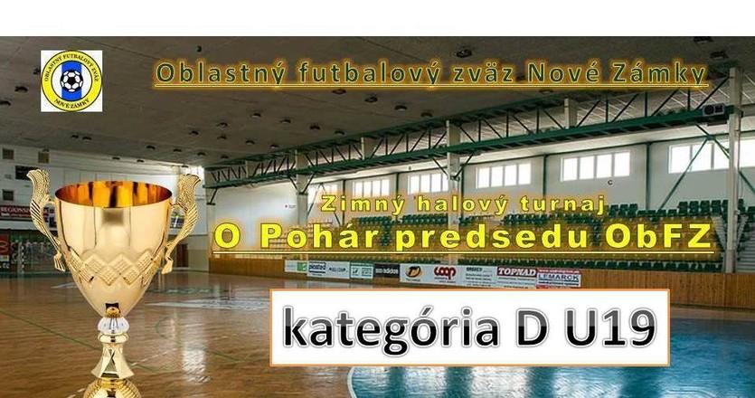 Futbalnet   Oblastný futbalový zväz Nové Zámky. ZHT o Pohár predsedu ObFZ v  kategórii D U19 - 24.2.2018 5777f38a821