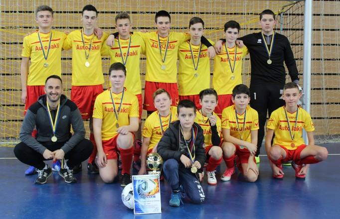 Žiaci z Holíc víťazmi halového turnaja starších žiakov U15
