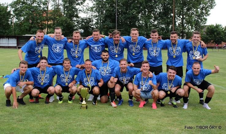 Víťazom AG Sport ligy/VI. ligy ObFZ DS sa stal - FC ŠTK 1914 Šamorín B