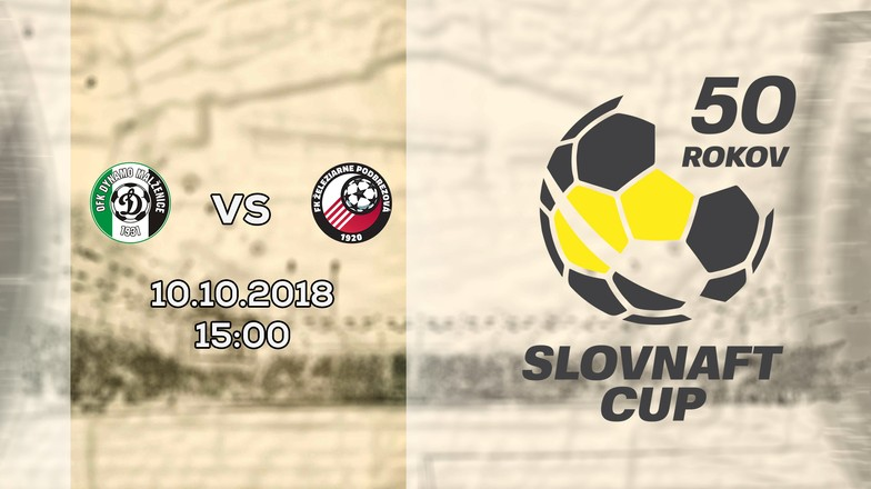 LIVE: SLOVNAFT CUP: 10. OKTÓBRA 2018, 15:00 OFK MALŽENICE – FK ŽELEZIARNE PODBREZOVÁ