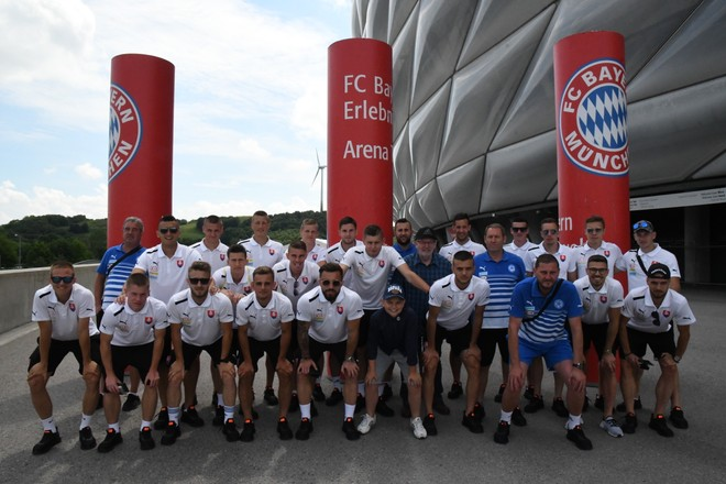 Videli sme Allianz Arénu!