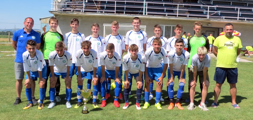 Turnaj v Hlbokom vyhral Výber ObFZ Nitra