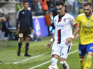 Zlaté Moravce sa súperom nepriblížili, dvakrát doťahovali gólové manko
